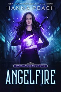 """Book Cover for """"Angelfire"""" by Hanna Peach"""