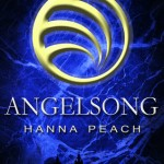 """Book Cover for """"Angelsong"""" by Hanna Peach"""