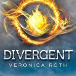 """Book Cover for """"Divergent"""" by Veronica Roth"""