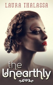 """Book Cover for """"The Unearthly"""" by Laura Thalassa"""