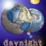 """Book Cover for """"Daynight"""" by Megan Thomason"""