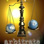 """Book Cover for """"Arbitrate"""" by Megan Thomason"""