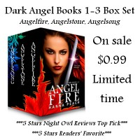 COVER REVEAL and Sneak Peek for Angelblood book 4 of the Dark Angel Series by Hanna Peach