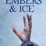 """Book Cover for """"Embers & Ice"""" by Isabella Modra"""