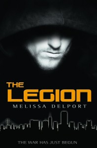 """Book Cover for """"The Legion"""" by Melissa Delport"""
