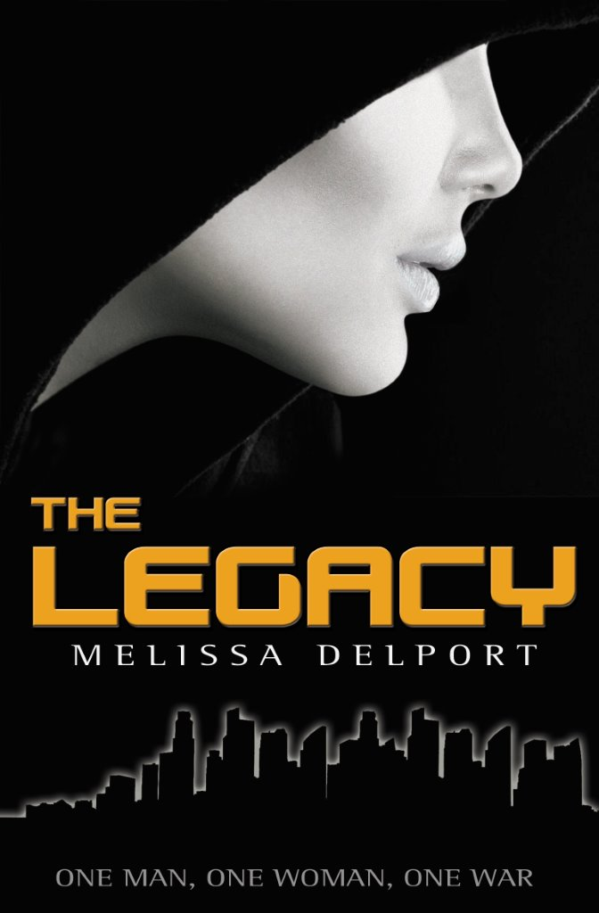 """Book Cover for """"The Legacy"""" by Melissa Delport"""