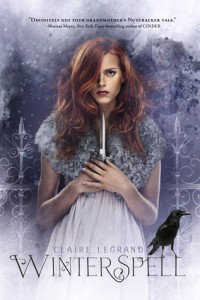 Book Cover of Winterspell by Claire Legrand