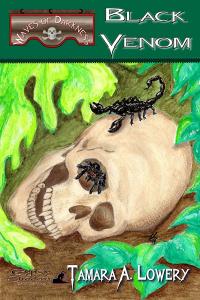 Book Cover for Black Venom by Tamara A Lowery