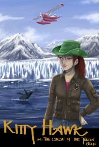 Book Cover for Kitty Hawk and the Curse of the Yukon Gold by Iain Reading
