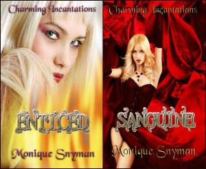 Book Covers for Charming Incantations Series