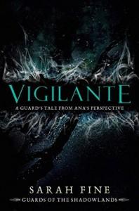 Book Cover for Vigilante by Sarah Fine