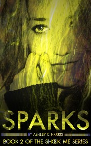 Book Cover for Sparks by Ashley C Harris