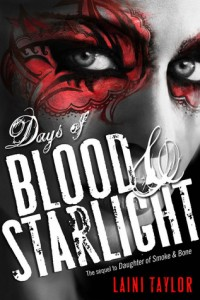 """Book Cover for """"Days of Blood & Starlight"""" by Laini Taylor"""