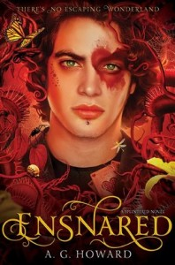 """Book Cover for """"Ensnared"""" by A.G. Howard"""