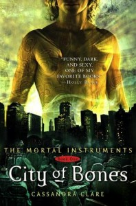 """Book Cover for """"City of Bones (The Mortal Instruments, #1)"""" by Cassandra Clare"""