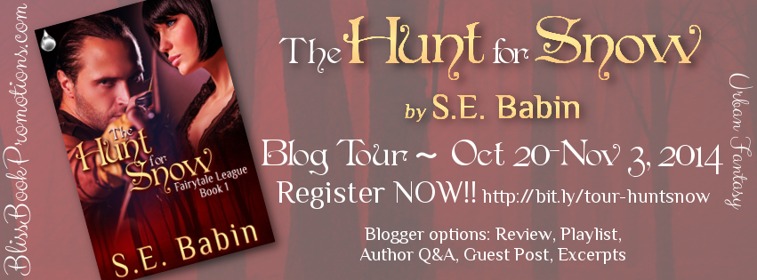 The Hunt for Snow by S.E. Babin - Blog Tour, Meet the Author, & More!