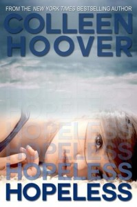 """Book Cover for """"Hopeless"""" by Colleen Hoover"""