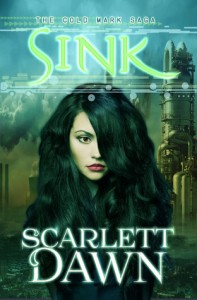 """Book Cover for """"Sink (Cold Mark, #2)"""" by Scarlett Dawn"""