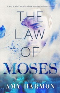 """Book Cover for """"The Law of Moses"""" by Amy Harmon"""