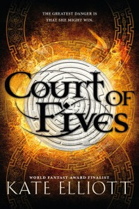 """Book Cover for """"Court of Fives"""" by Kate Elliott"""