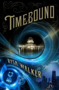 """Book Cover for """"Timebound"""" by Rysa Walker"""