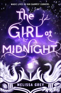 """Book Cover for """"The Girl at Midnight"""" by Melissa Grey"""