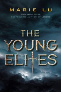 """Book Cover for """"The Young Elites"""" by Marie Lu"""