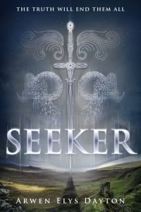 "Book Cover for ""Seeker"" by Arwen Elys Dayton"