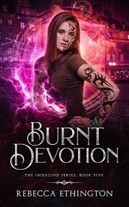 """Book Cover for """"Burnt Devotion"""" by Rebecca Ethington"""