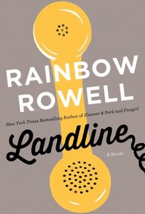 """Book Cover for """"Landline"""" by Rainbow Rowell"""