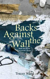 """Book Cover for """"Backs Against the Wall"""" by Tracey Ward"""
