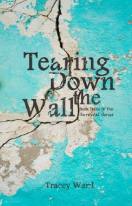 """Book Cover for """"Tearing Down the Wall"""" by Tracey Ward"""