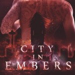 """Book Cover for """"City in Embers"""" by Stacey Marie Brown"""