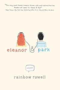 """Book Cover for """"Eleanor & Park"""" by Rainbow Rowell"""