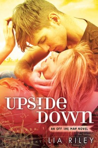 """Book Cover for """"Upside Down"""" by Lia Riley"""
