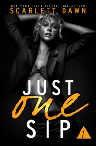 """Book Cover for """"Just One Sip"""" by Scarlett Dawn"""