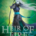 """Book Cover for """"Heir of Fire"""" by Sarah J Maas"""