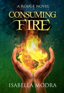 """Book Cover for """"Consuming Fire"""" by Isabella Modra"""