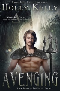 """Book Cover for """"Avenging"""" by Holly Kelly"""