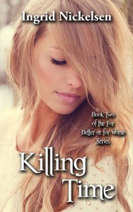 """Book Cover for """"Killing Time"""" by Ingrid Nickelsen"""