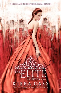 """Book Cover for """"The Elite"""" by Kiera Cass"""