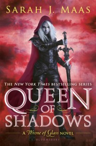 """Book Cover for """"Queen of Shadows"""" by Sarah J Maas"""