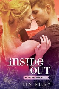 """Book Cover for """"Inside Out"""" by Lia Riley"""