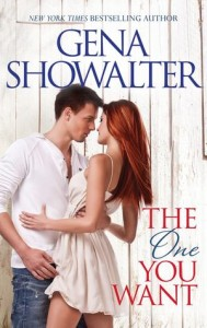 """Book Cover for """"The One You Want"""" by Gena Showalter"""
