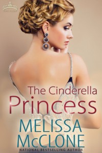 """Book Cover for """"The Cinderella Princess"""" by Melissa McClone"""