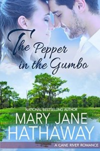 """Book Cover for """"The Pepper in the Gumbo"""" by Mary Jane Hathaway"""