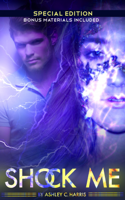 """Book Cover for """"Shock Me Special Edition"""" by Ashley C. Harris"""