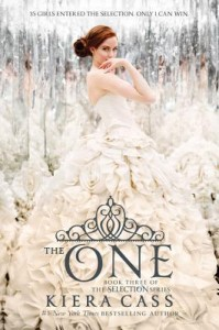 """Book Cover for """"The One"""" by Kiera Cass"""