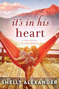 """Book Cover for """"It's in His Heart"""" by Shelly Alexander"""