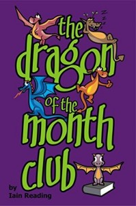 """Book Cover for """"the dragon of the month club"""" by Iain Reading"""